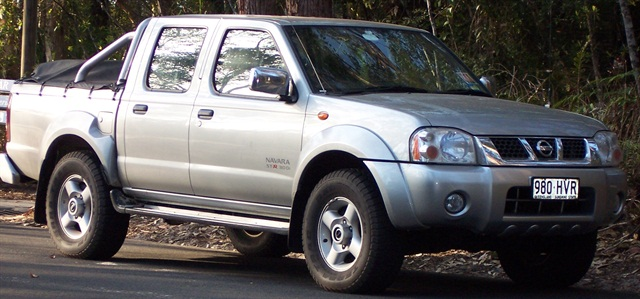 Nissan Navara pickup. Photo via Wikimedia.