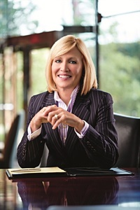 Pam Nicholson, CEO of Enterprise Holdings. Photo courtesy of Enterprise Holdings