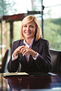 Pam Nicholson, CEO and president of Enterprise Holdings. Photo courtesy of Enterprise Holdings