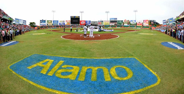 The Yucatan Lions have renamed their stadium as Kukulcan Alamo Park. Photo courtesy of Enterprise Holdings.