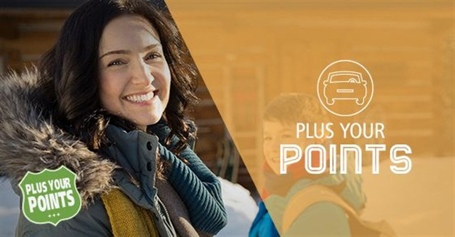 Enterprise Rent-A-Car's Plus Your Points promotion. Courtesy of Enterprise.