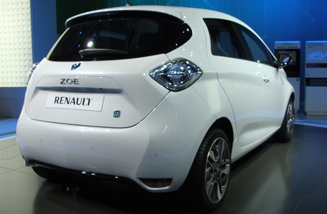 Renault's all-electric ZOE. Photo via Wikimedia.
