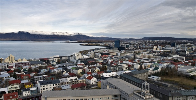 Reykjavik is one of Budget's locations in Iceland. Photo via Wikimedia.