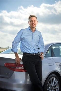 Silvercar's CEO Luke Schneider. Photo courtesy of Silvercar.