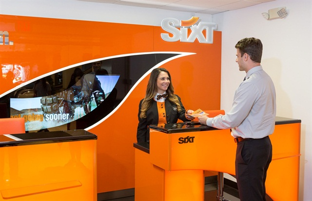 Photo courtesy of Sixt.