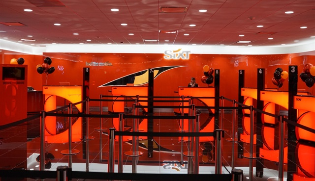 Sixt's new upgraded location at Miami International Airport. Photo courtesy of Sixt.