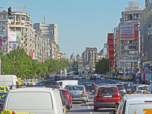 The streets of Bucharest, Romania. Photo via HPGruesen/Good Free Photos