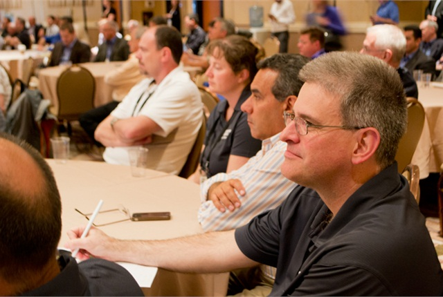 Attendees take in one of 20 seminar opportunities.