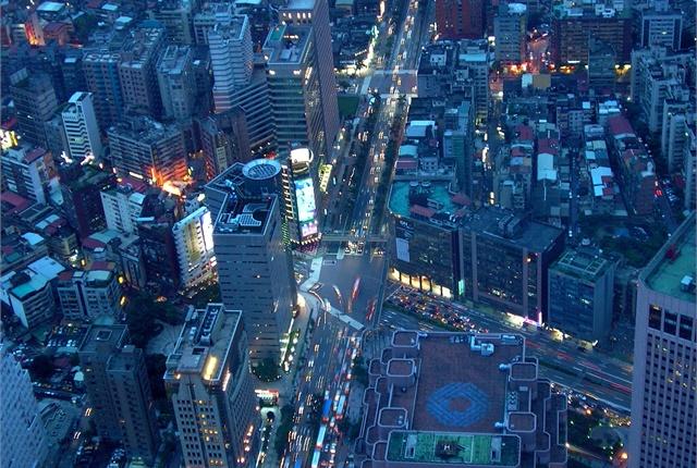 A view of Taipei, Taiwan. Photo courtesy of Wikimedia/www.goodfreephotos.com.