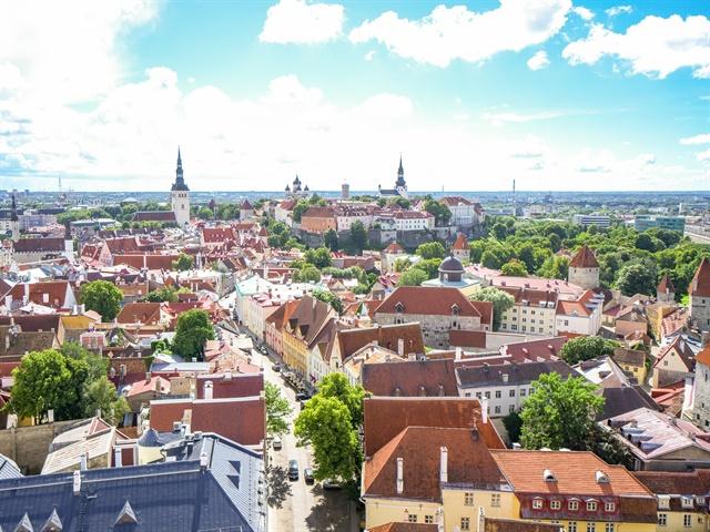 Tallinn, Estonia. Photo via Sayama/Pixabay.