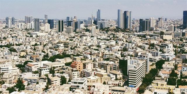 Tel Aviv. Photo via Wikimedia.