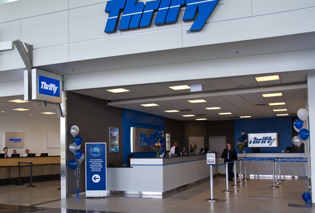 Thrifty Car Rental got the top spot for the best social media performance on Facebook. Photo via Atomic Taco/Flickr.