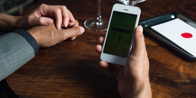 Uber's mobile app platform. Photo courtesy of Uber.