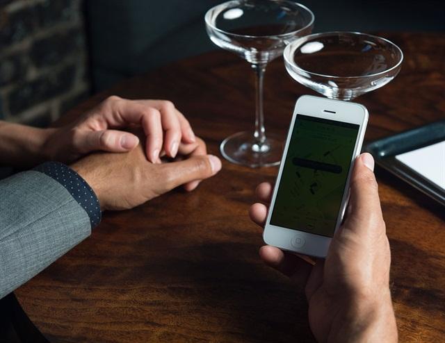 Uber's ride-sharing mobile app. Photo courtesy of Uber.
