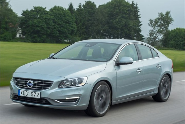Photo of 2014 S60 sedan courtesy of Volvo.