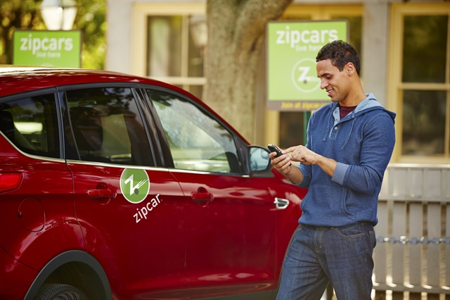 Through this program, Zipcars will be available for Uber drivers to rent. The program will first launch in Boston. Photo courtesy of Zipcar