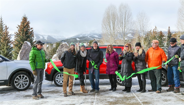 Zipcar has launched its carsharing service in Breckenridge, Colo. Photo courtesy of Zipcar