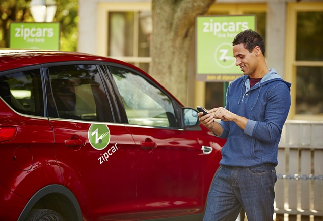 Zipcar is one of the carsharing companies that is part of San Francisco's carsharing parking pilot program. Photo courtesy of Zipcar.