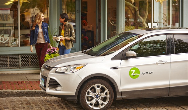 Zipcar is one of Boston's carsharing companies that could bid on the spaces for their vehicles. Photo courtesy of Zipcar.