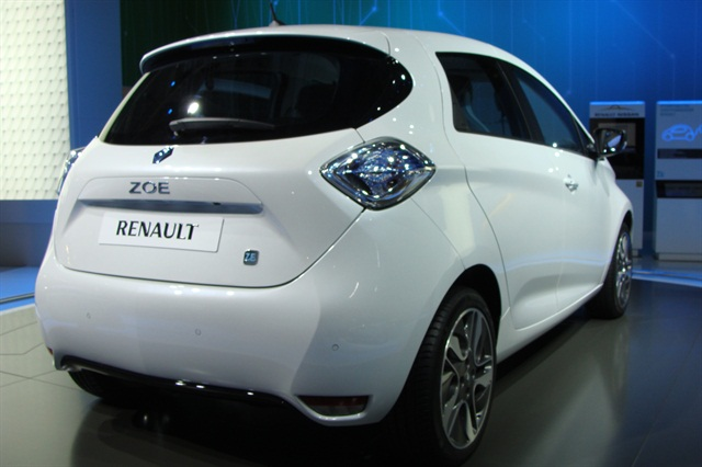 Co-wheels has added 20 electric Renault Zoe vehicles. Photo via Wikimedia.