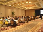 Attendees gathered in the main ballroom for the first seminar session.