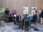 The event offered several opportunities for attendees to network with various vendors in the exhibit hall.