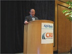 Chris Brown, executive editor of Auto Rental News, welcomed the more than 200 attendees.
