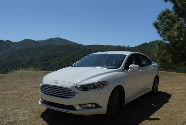 Mid-cycle refreshes often come with pleasing driver enhancements, and the 2017 Fusion lineup is a good example: The front grille was widened while chrome accents and full LED lamps were added; improved suspension and sound dampening enhance ride quality; and start-stop is now standard on all models for improved fuel economy.