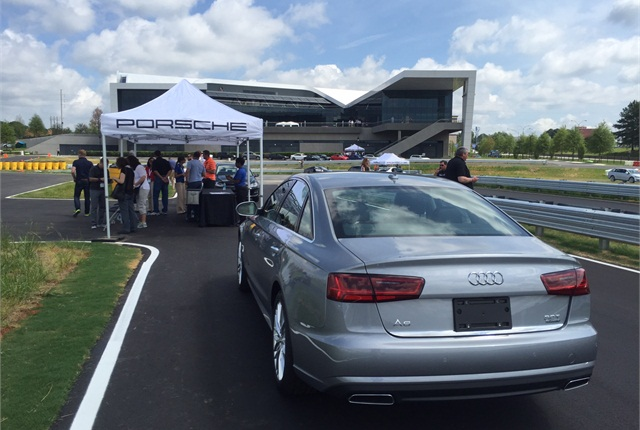The 2015 Volkswagen and Audi fleet preview featured a visit to the just-opened Porsche Experience Center for a day of test drives.